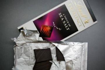 Lindt - čokoláda s morskou soľou