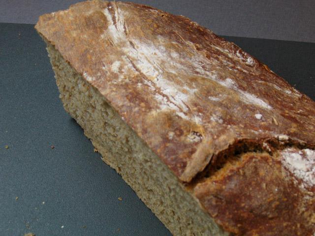 Kôrka domáceho chleba