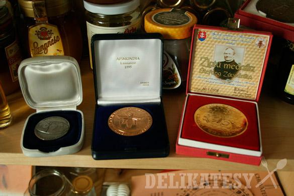 Včelárske ocenenia