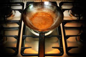 Čínsky wok