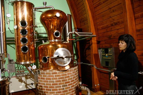 Samotná distilačná súprava
