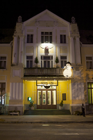 Hotel Lev - vstup