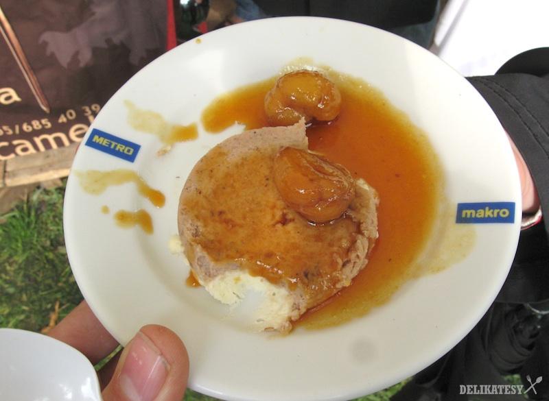 Gaštanový dezert z Camelotu