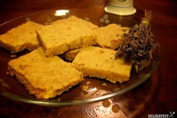 Levandulový koláč