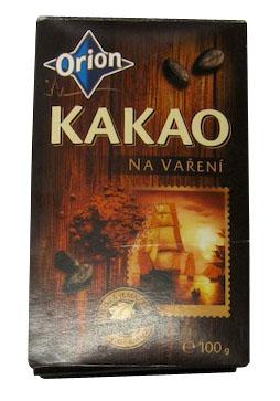 Kakao na varenie, Orion
