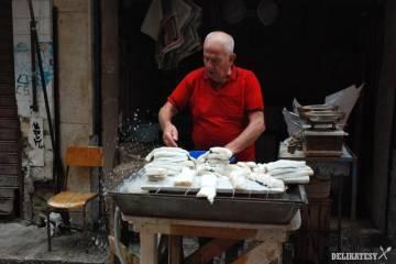 Palermo, cerstve ryby