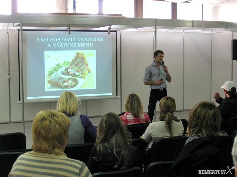 Vlado Zlatoš prednáša o zdravom menu