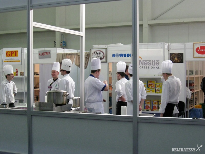 Mladí kuchári sa chystajú na súťaž