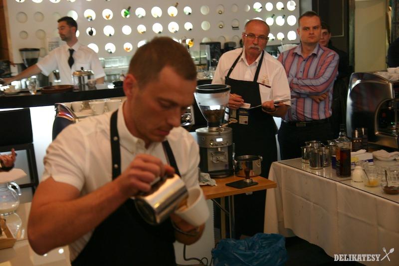 Marián Galuška a jeho cappuccino