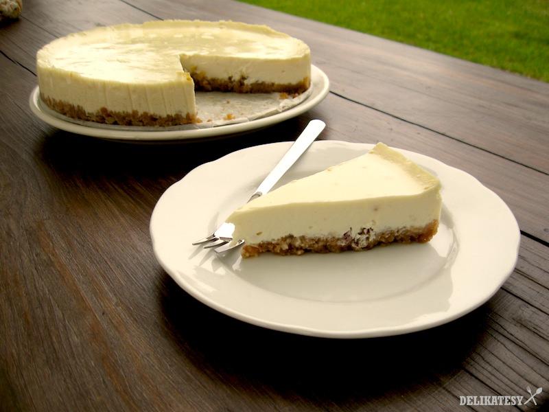 Hotový cheesecake