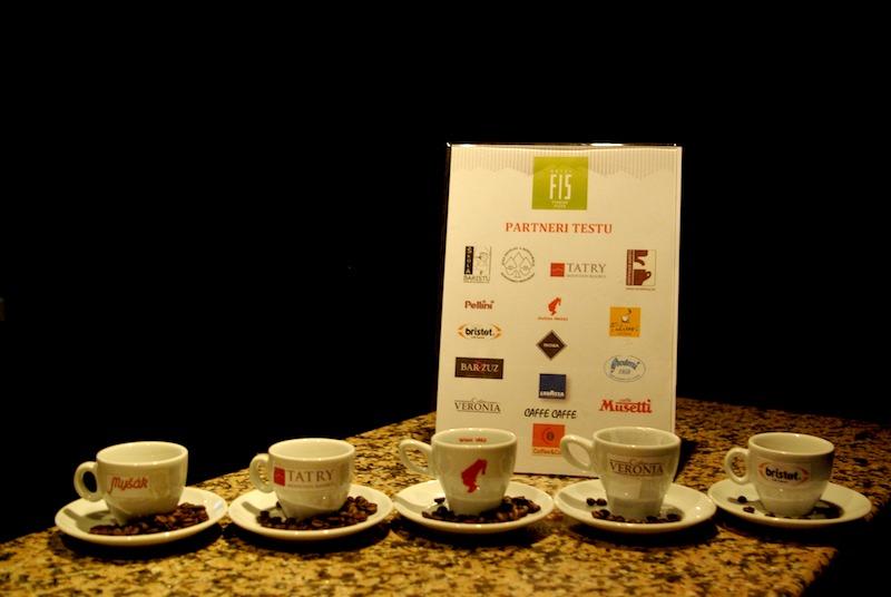 Slepý test kávy - prvých päť značiek