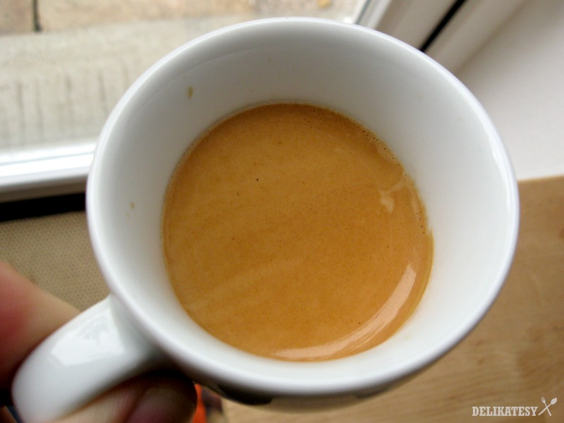Vysledné espresso