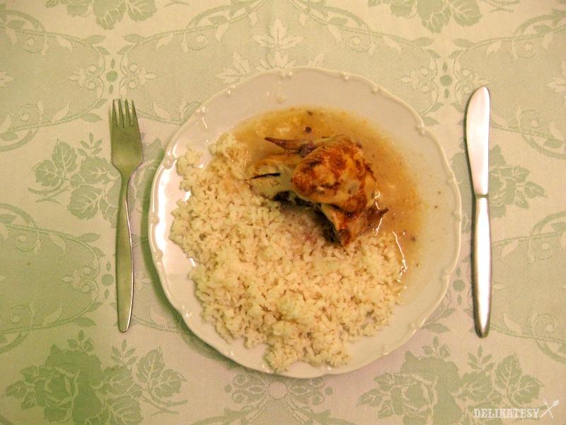 Kuracie prsia s ryžou