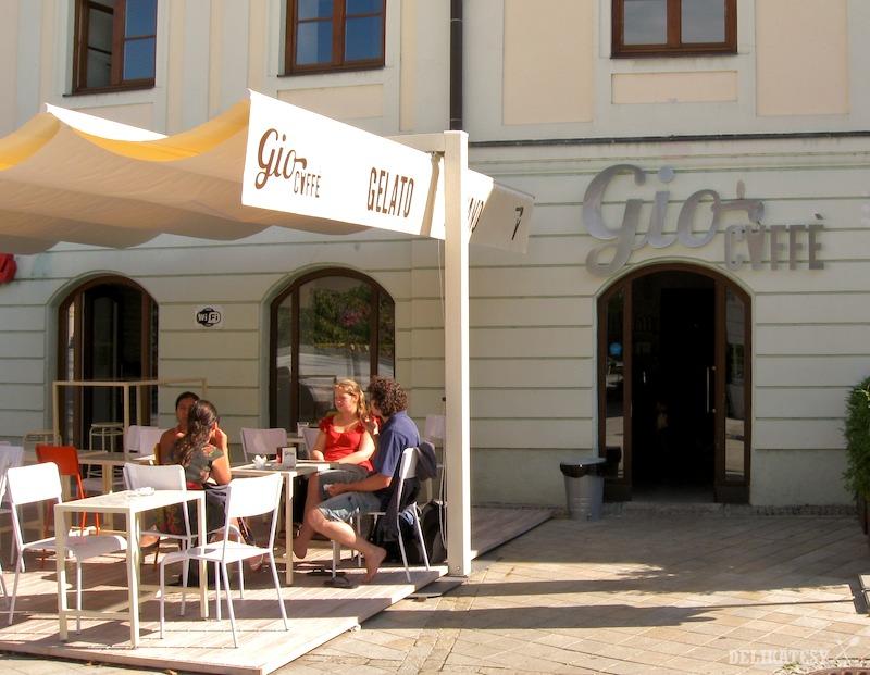 Gio Caffè na Kupeckej ulici v Nitre