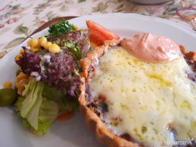 Zeleninová tartaletka