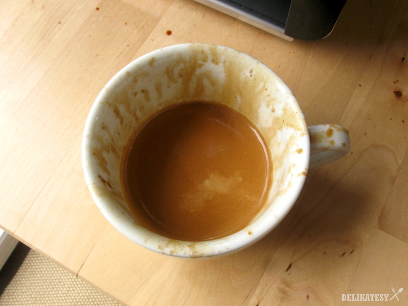 """""""Odmena"""" za odfláknuté espresso"""