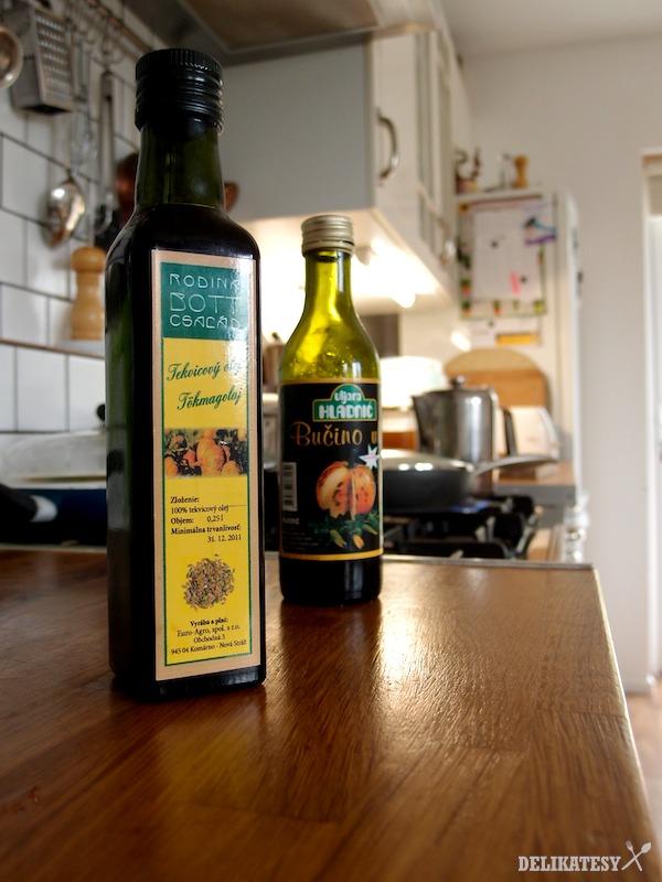 Tekvicový olej od vinárstva Bott Frigyes