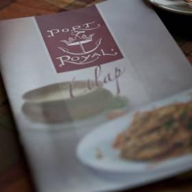Port Royal menu