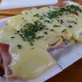Raclette chlebík