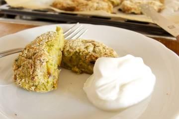 Praženky z brokolice a šampiňónov