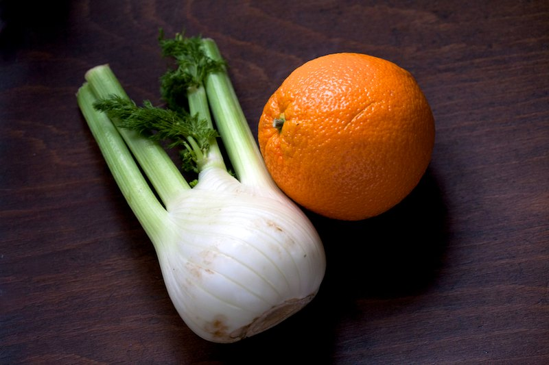 Fenikel a pomaranč