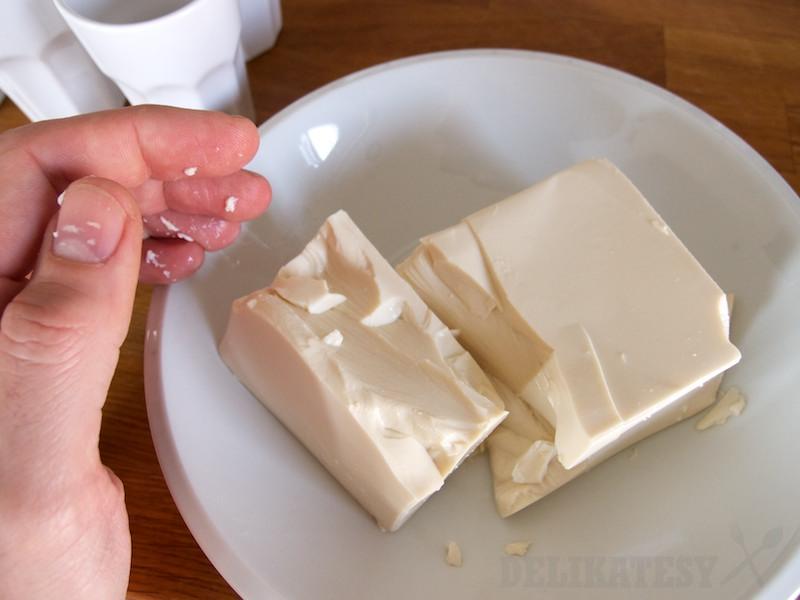 Kocka silken tofu
