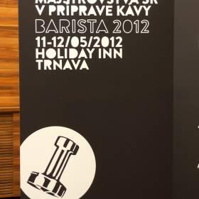 Majstrovstvá SR v príprave kávy Barista 2012, Trnava, Holiday Inn