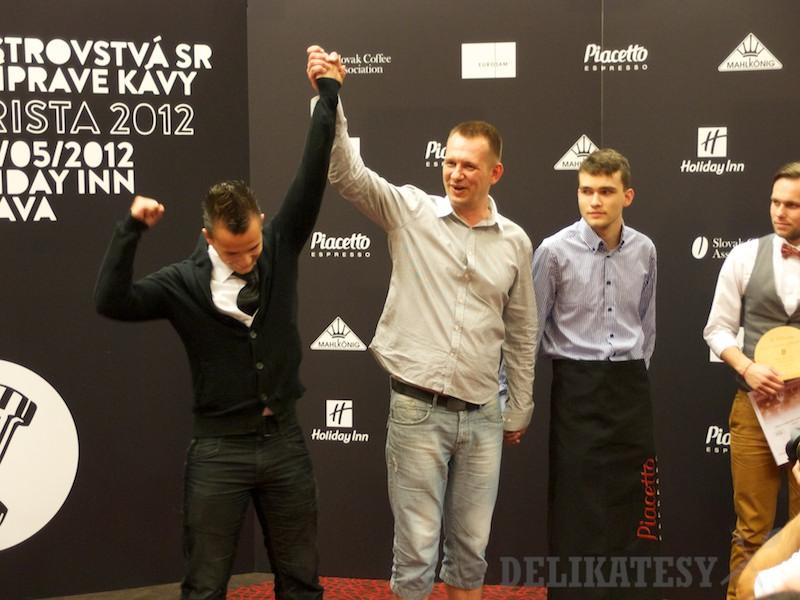 Rasťo Blažkovič vyhral Coffee in Good Spirits