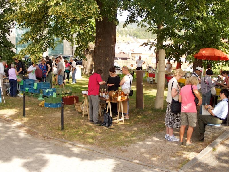 Farmárske trhy v Českom Krumlove