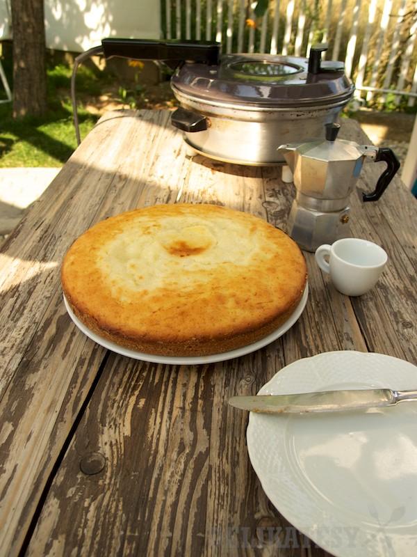 Príjemne vlhký koláč z remosky