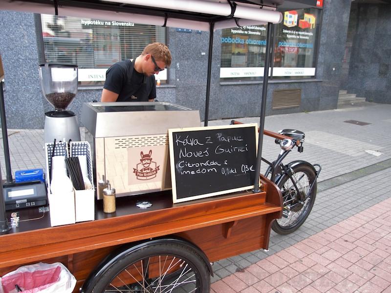 Mobilný kávovar Pán Králiček
