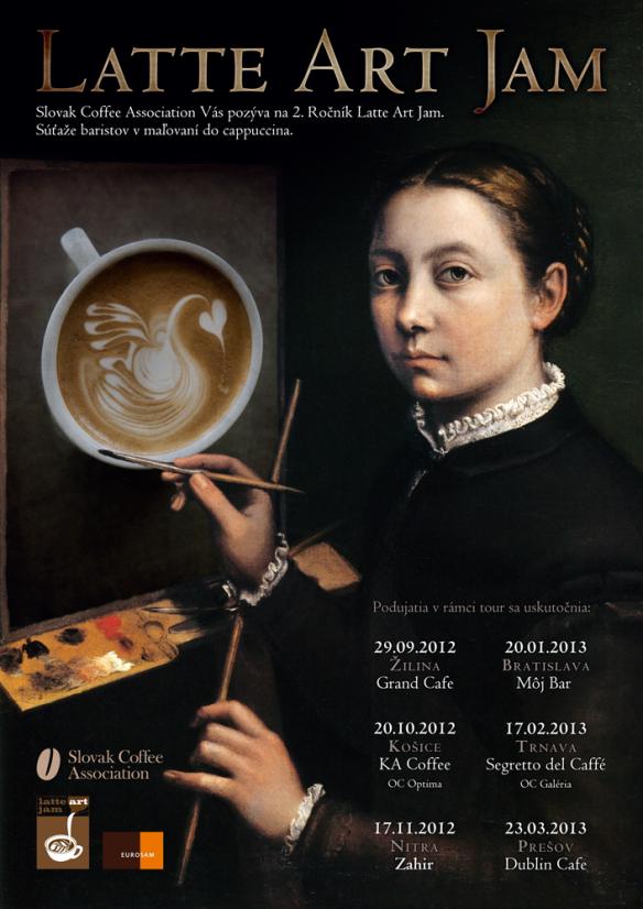 Latte Art Jam 2012