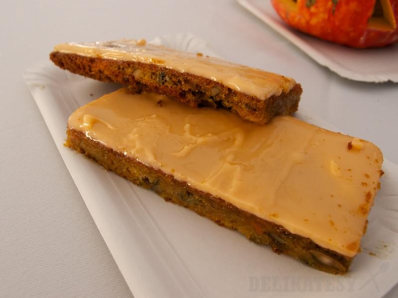 Tekvicový koláčik