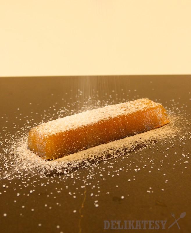 Dulový syr obalený v cukre