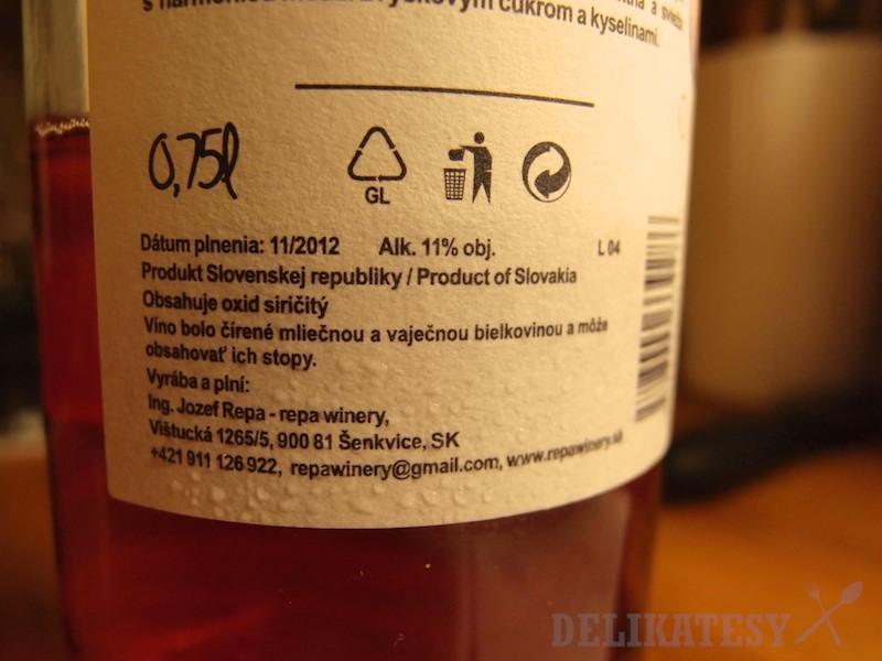 ...a dokonca aj info o prídavných látkach