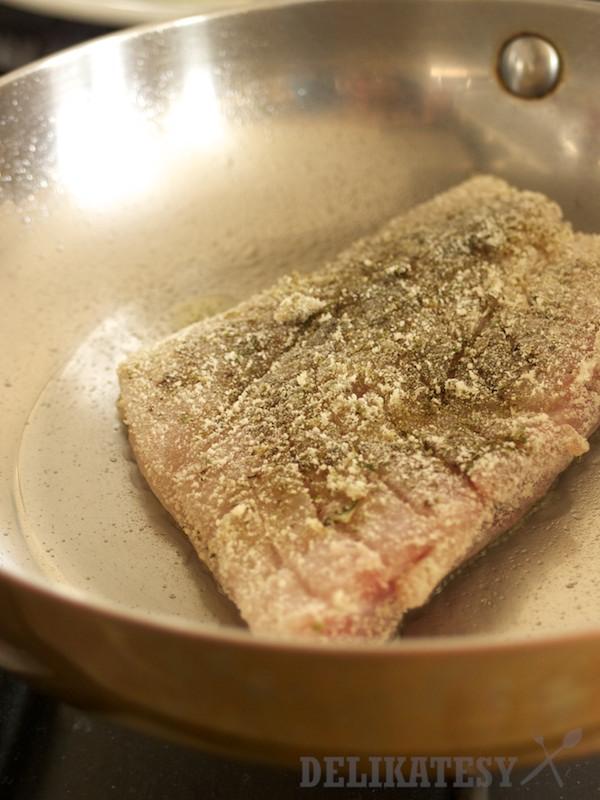 Filet z tresky obalený v kakaovom masle
