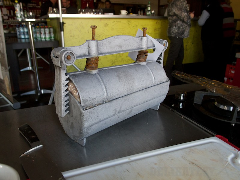 Šunkovar pripravený na varenie