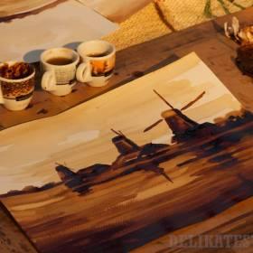 Maľovanie s kávou