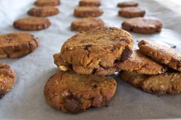 Cookies s kúskami čokolády