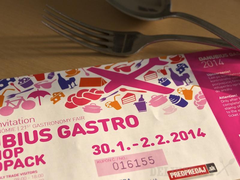 Danubius Gastro pozvánka