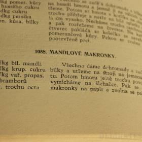 Mandlové makarons