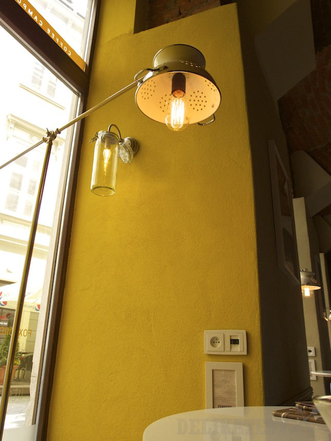 Svetlá z kuchynských vecí