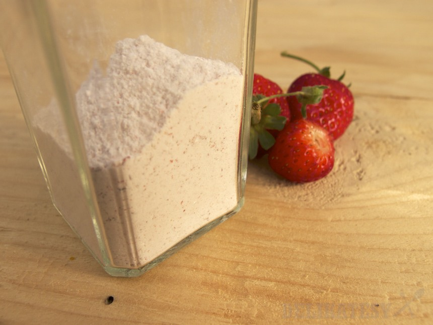 Jahodový cukor