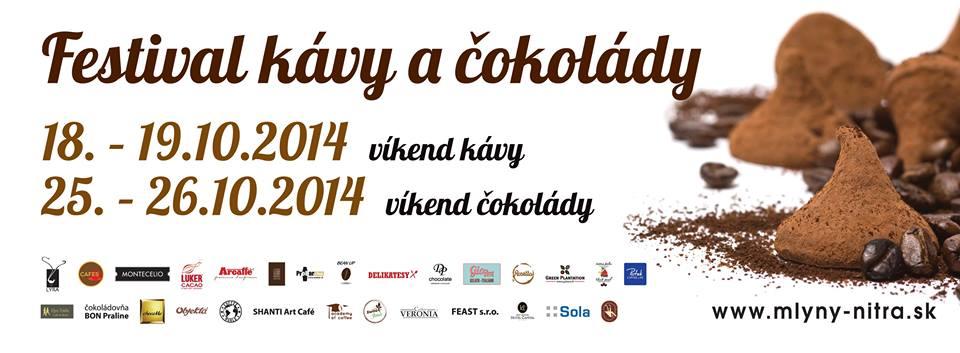 Festival kávy a čokolády v Nitre