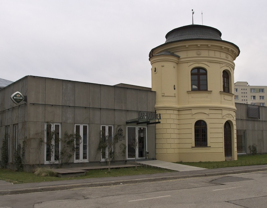 Rotunda, čiže Spiegelsaal v Trnave