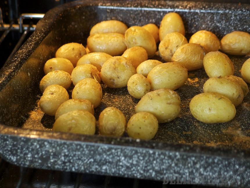 Mladé mini-zemiaky