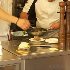 Príprava jedla v Med a malina