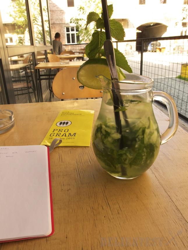 Uhorková limonáda v Tabačke