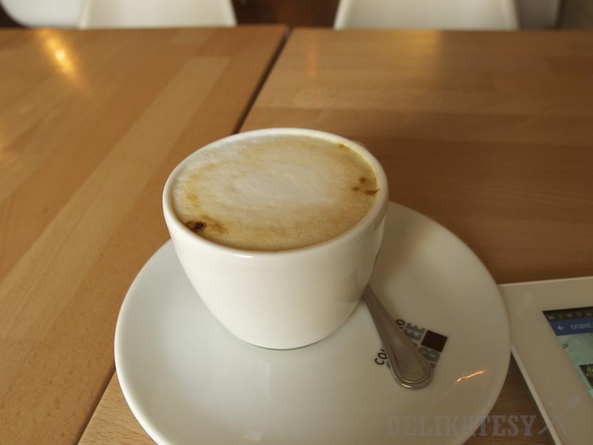 Cappuccino z kávoviny