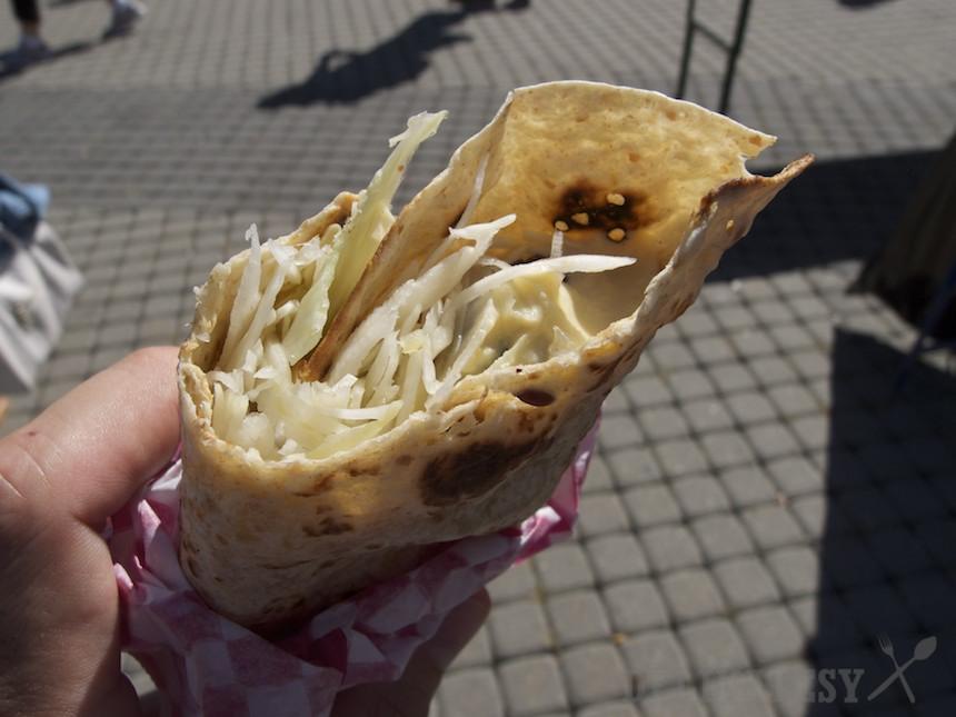 Falafel v placke z Foodstocku